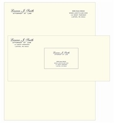 engraved thermographed legal stationery letterhead premium